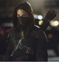 "Arrow -- ""Heir to the Demon"" -- Image AR213a_0635b -- Pictured: Katrina Law as Nyssa al Ghul -- Photo: Cate Cameron/The CW -- © 2014 The CW Network, LLC. All Rights Reserved"